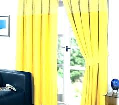 yellow striped curtains incredible stylish