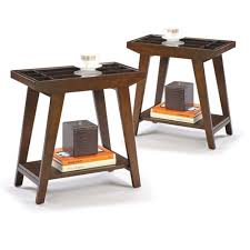 chair side table. chairside table in an espresso / cappuccino finish with draw living room wood wooden accent chair side t