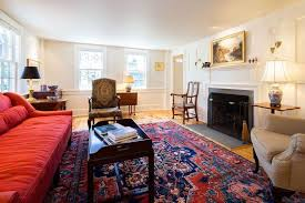 38 40 commercial st ptown beach house decor trad living room oriental rug