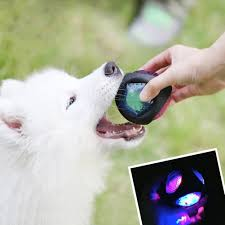 luminous dog toy durable bouncy rubber bouncy dog chewing ball dog pet toys