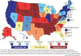 The US Electoral College 2020: Current Projections and Future Uncertainty