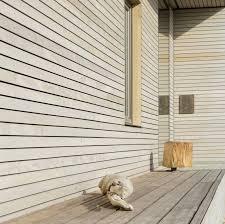 Holzfassade Unverändert Fassade