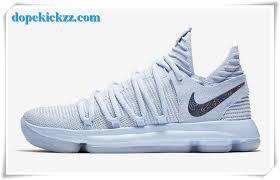 nike basketball shoes 2017 kd. 2017 new releases nike kd 10 anniversary light blue mens basketball shoes kd