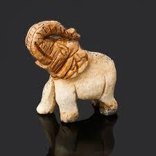 Купить <b>Слон</b> яшма рисунчатая (песочная) Намибия 4 <b>см</b> ...