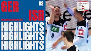 Highlights   Germany v Israel   EHF EURO 2020 Qualifiers - YouTube