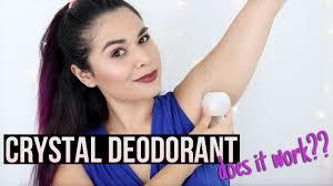 NATURAL <b>DEODORANT</b> THAT WORKS: <b>Crystal Mineral Deodorant</b> ...