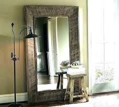 white floor mirror. Big Floor Mirror Large White Standing Free