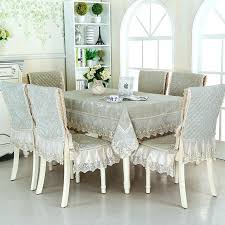 large table covers set cm rectangular tablecloth dining chair covers table covers lace edge large round large table covers