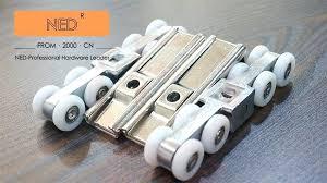 rollers for sliding doors 8 wheels door roller set hanging wood wheel in from home improvement rollers for sliding doors