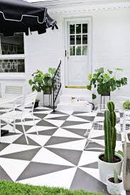 paint concrete patio with ecfdeedcfec painted patios before and after outdoor ideas concrete patio paint