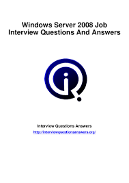 windows server interview questions answers guid
