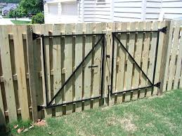 double fence gate. How Double Fence Gate