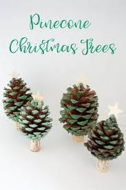 Pinecone Christmas Trees U2013 Craft Project U2013 My Creative BlogPine Cone Christmas Tree Craft Project