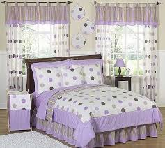lavender comforter sets queen mod dots set 3 piece full size by sweet 16