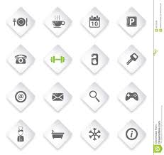 A Hotel Simply Hotel Simply Icons Stock Vector Image 66722638