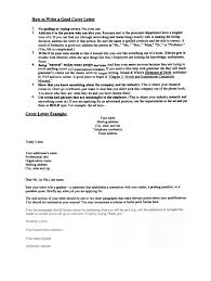 How To Write A Good Cover Letter For A Job Writing A Good Cover Letter Staruaxyz 20