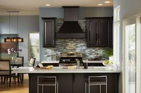 kitchen paint colors with dark cabinets combination incredible homes brown treatment grey cupboards what kind light
