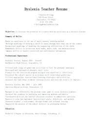 Teacher Aid Resume Teacher Aide Resume No Experience Sample Teacher