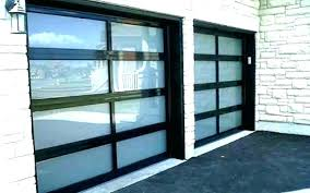 garage door window privacy aluminum glass doors s frosted automatic alloy tempered overhead canada p all glass garage doors