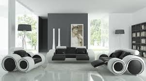 Futuristic Living Room Living Room Inviting Black And White Living Room Design Ideas