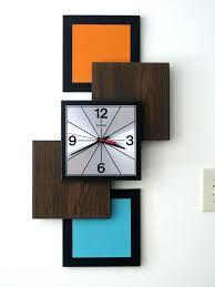 mid century wall clock majestic vintage wall clock atomic together with vintage wall clock in modern mid century wall clock