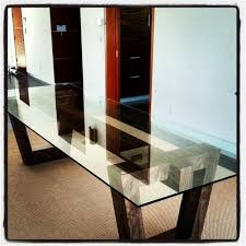 popular of wooden dining table with glass top 17 best ideas about glass top dining table
