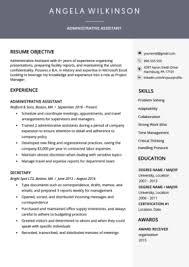 Resume Modern Template Free Download 40 Modern Resume Templates Free To Download Resume Genius