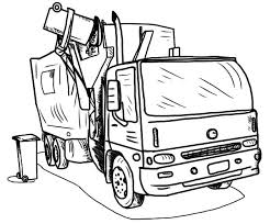 Small Picture Truck coloring pages garbage truck ColoringStar