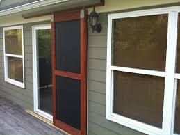Home Design : Patio French Doors With Screens Regarding Present Home ...