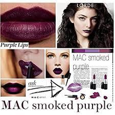 Buy <b>M.A.C</b> Matte Lipstick <b>Smoked</b> (<b>Purple</b>) Online at Low Prices in ...