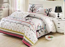 little trees and heart shape pattern 4 piece cotton kids duvet cover sets beddinginn com
