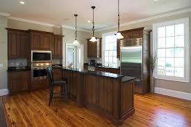 laminate flooring kitchen dark cabinets. Interesting Cabinets Mesmerizing Design Interior Hardwood Flooring Features Light Brown Wooden Laminated  Floor And Dark Kitchen Island Good Looking  In Laminate Cabinets S