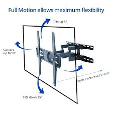 55 in tv wall mount wall mount for inch tilt swivel wall mount articulating throughout inch