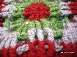 Piastrelle all uncinetto di lana: le piastrelle granny per la