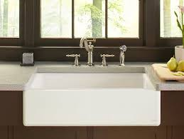 sinks kohler a sinks stainless steel kitchen sink with kohler accent and porcelain cabinet for