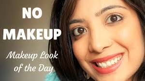 no makeup makeup look for indian skin basic natural makeup routine for college office grwm you