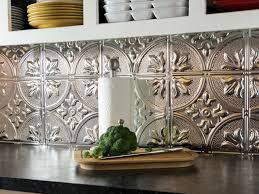 Full Size of Kitchen Backsplash:metallic Wall Tiles Metal Backsplash Panels Metal  Tiles Stainless Steel Large Size of Kitchen Backsplash:metallic Wall Tiles  ...