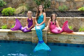 Small Picture Live Mermaids Swimming in Our Pool YouTube