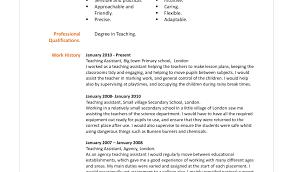 Resume Sample For Teacher Assistant Resume Online Builder