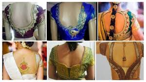 Different Types Of Blouse Back Neck Designs 2016 15 Traditional Blouse Back Neck Designs For Pattu Sarees