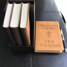 got this leatherette bound mini editions recently