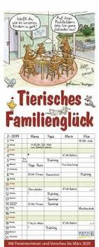 Tierisches Familienglück 2019 Kalender Portofrei Bestellen