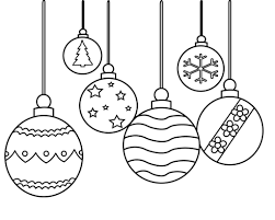 Displaying 15 ornament printable coloring pages for kids and teachers to color online or download. Christmas Ornament Coloring Pages Printable Simple For Preschoolers And Adluts