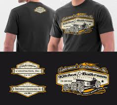 Cool Construction T Shirt Designs Elegant Playful Construction T Shirt Design For A Company
