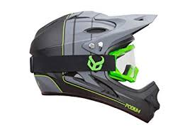 Amazon.com : Demon Podium <b>Full Face</b> Mountain <b>Bike</b> Helmet with ...