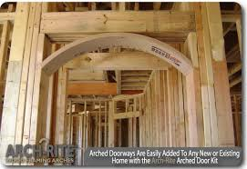 Arched Doorways l Easily added to any new or existing home! Arched doorways  ...