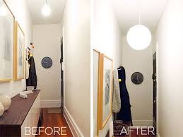 lighting a hallway. lightsba lighting a hallway