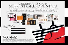 sephora inside jc penney grand opening
