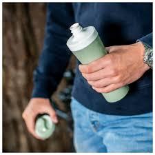 Купить <b>Бутылка Koziol</b> OASE Organic <b>425 мл</b> синяя по низкой ...