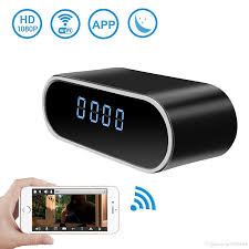 2018 z10 wifi ip 1080p alarm clock cam with wirelesotion detection night vision ir surveillance for home security baby monitor from